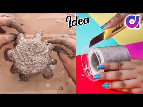 11 Amazing Cement Crafts And ideas | DIY Room Decor 2019 | Artkala