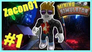 #1 SCAVO TANTI MINERAL AUF ROBLOX! (Mining ITA Simulator)