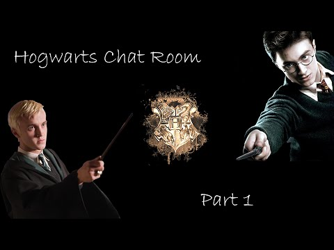 Hogwarts Chat Room - Part 1 (Drarry)