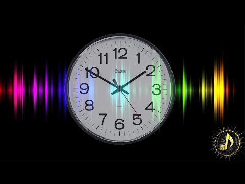 Clean Wall Clock Ticking Sound Effect