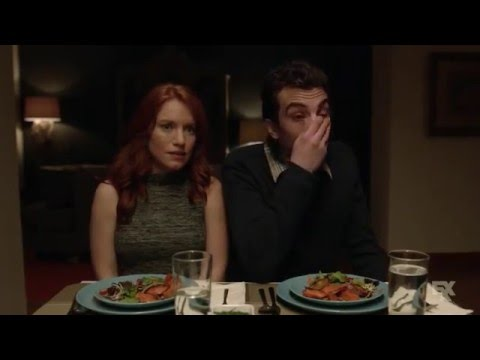 Man Seeking Woman - dinner party
