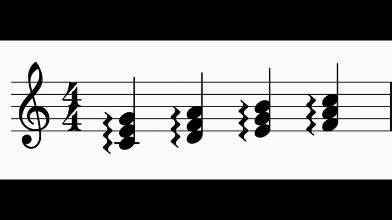 how to add rolled chord in musescore