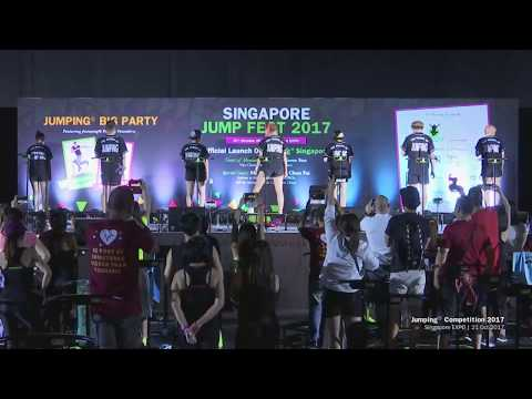 First Prize Winner of Jumping Competition at Jumping Big Party Singapore 2017