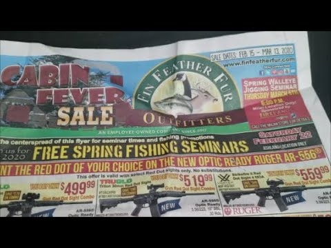 FIN FEATHER AND FUR OUTFITTERS  SALE