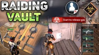 RAIDING A VAULT! NEW BASEMENT UPDATE! - LifeAfter