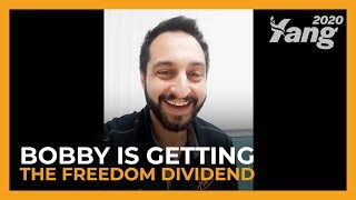 Freedom Dividend Giveaway | Bobby
