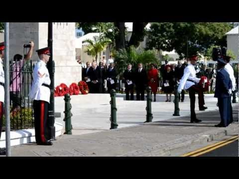 2012 Remembrance Day Bermuda Nov 11