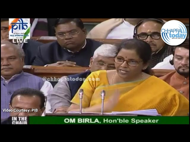 #Budget2020 : Finance Minister #NirmalaSithraman announces major tax relief for individuals