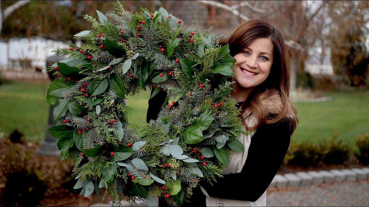 Christmas Wreath Garden Answer Youtube