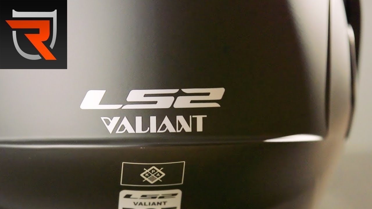 Review of the LS2 Valiant FF399 motorcycle crash helmet