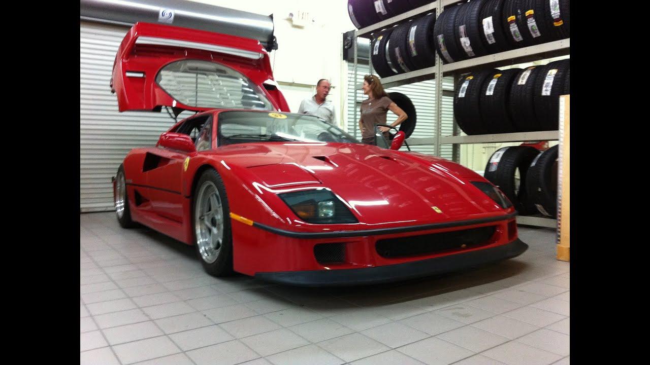 1992 Ferrari F40 - 500 sub special!!! - YouTube