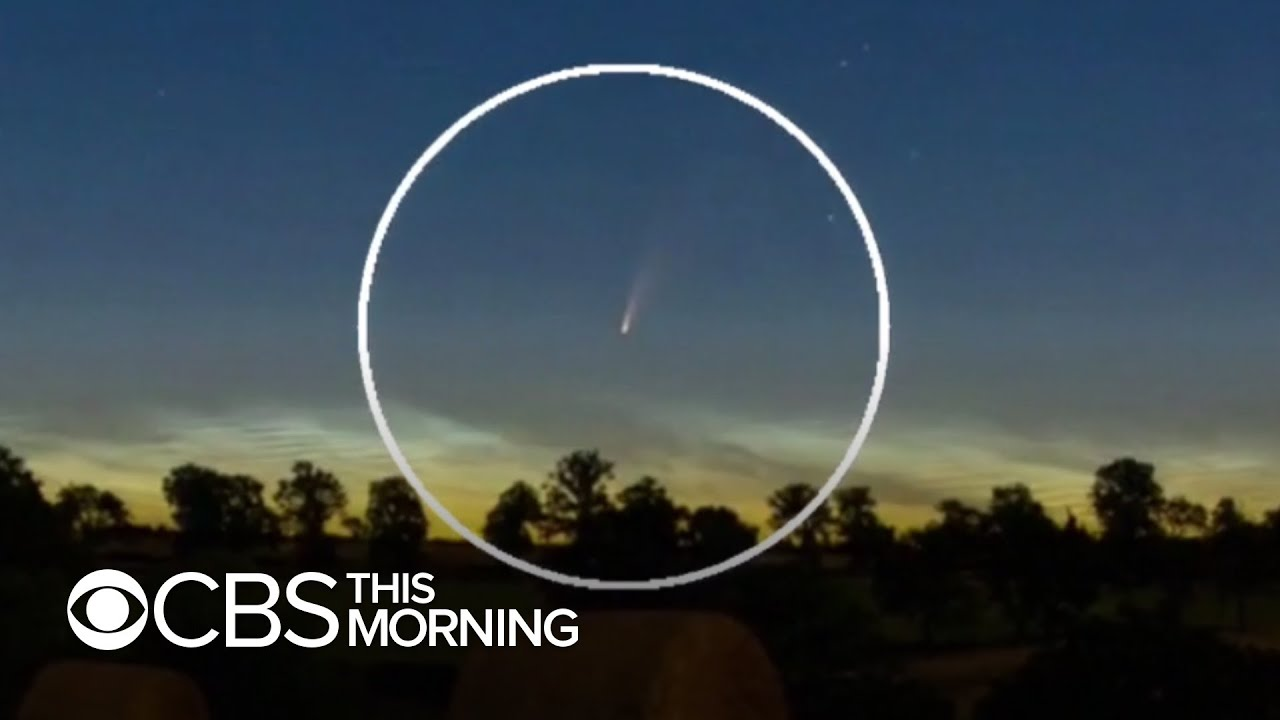 See Comet Neowise before its gone for 6,800 years - Dan