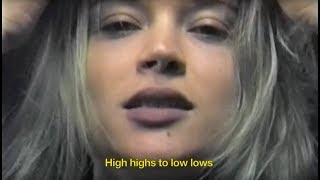Lolo Zouaï - High Highs to Low Lows (Official Video) chords | Guitaa.com