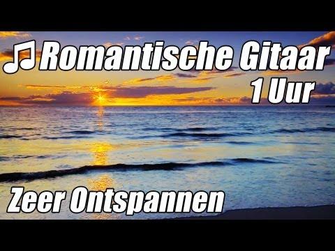 ROMANTISCHE GITAAR MUZIEK Instrumentale Akoestische Klassieke #1 Uur Ontspannen Studie HD