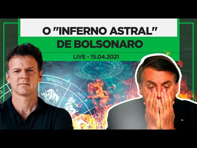 Com minoria na CPI e popularidade derretendo, Bolsonaro vive
