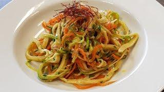 Gemüse-Spaghetti Aglio e Olio Veylt (mit Rezept zum nachkochen) Mori kocht