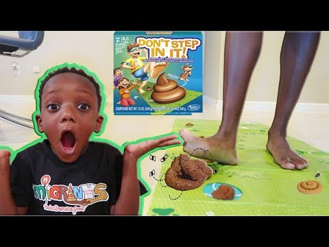 Dont Step In It! Challenge!! Family Fun Game
