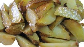 Картофель в мундире запеченный в духовке Быстро вкусно и просто