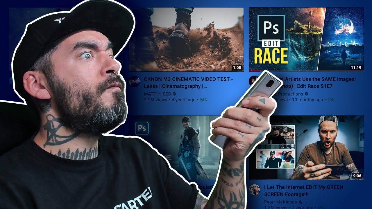 PHOTOSHOP Channel Hopping – What's HOT on YouTube?
