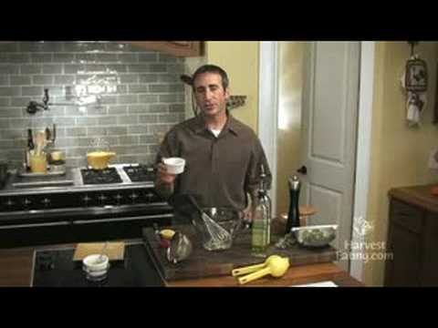 Video Recipe: Lemon Thyme Vinaigrette