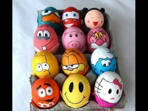 çocuklar Için Eğlenceli Yumurta Boyama Youtube