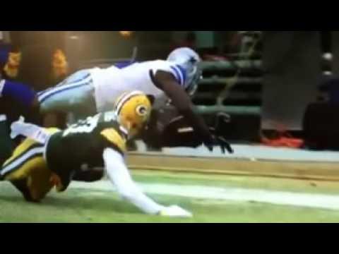 Packers Vs Cowboys Dez Bryant S Catch Drop