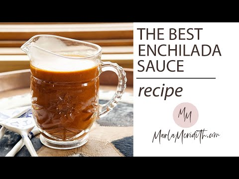 The BEST Red Enchilada Sauce recipe