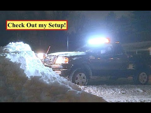 Snow Plowing: Aux Lighting