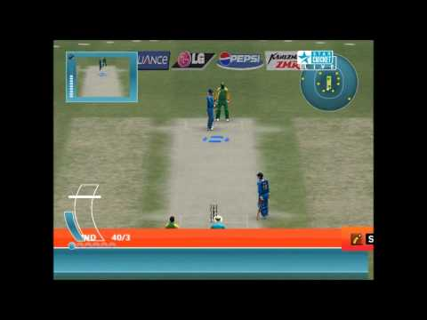 Cricket 2007 with A2 studios world cup 2011 patch bowling