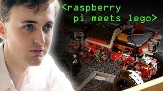 Raspberry Pi Lego Robot - Computerphile