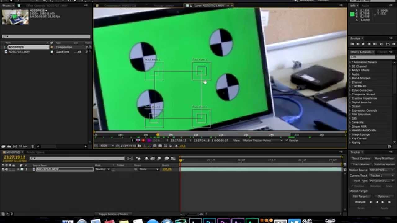 After Effects - Screen Replacement Tutorial Part 2 - YouTube