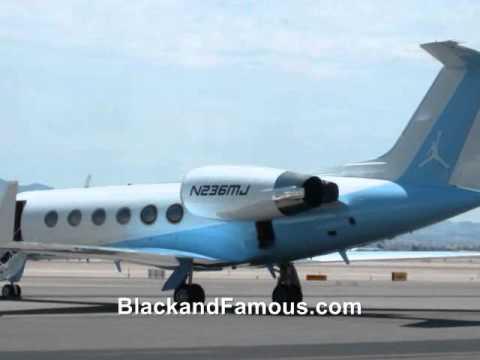 Michael Jordan39s Private Jet Plane  YouTube