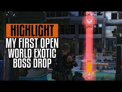 Stream Highlight   The Division 2   My First Exotic Drop   The Merciless   PC Gameplay