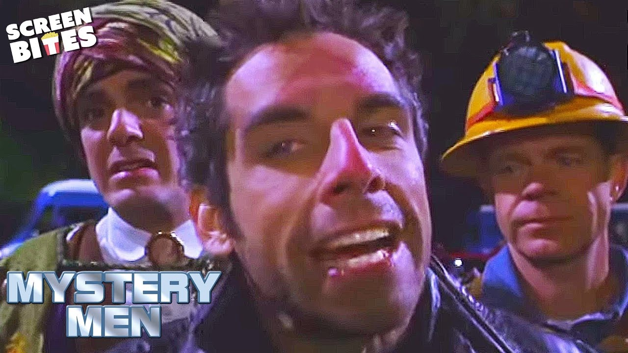 Mystery Men Mr Furious Ben Stiller Gets Angry Ft Hank Azaria