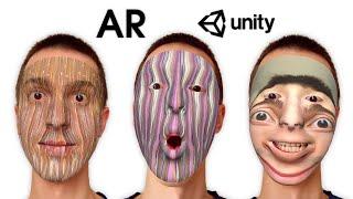 AR Masks (AR Face Filters) — Unity Asset — AR Mask: Custom Texture