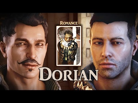 """Dragon Age: Inquisition - """"... fight for what's in your heart"""" Full Dorian Romance inc Trespasser"""