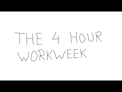 THE 4 HOUR WORKWEEK BY TIM FERRISS ANIMATED BOOK SUMMARY