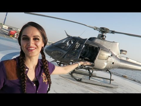 Surprise Helicopter Ride in Dubai !!!