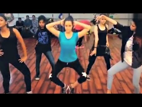 Shraddha Kapoor Hot Dance Practice Video