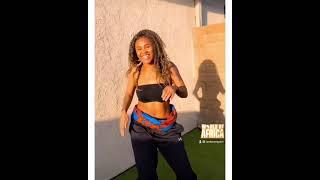 When a Caribbean waist 🇹🇹🇻🇮 hears the African beat 💃🏾