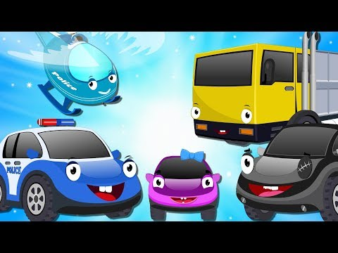 Bob the Police Car to Rescue Missing Ba Car from thief Yellow Truck  Cartoon for Kids