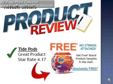 product review for free tide pods sample youtube