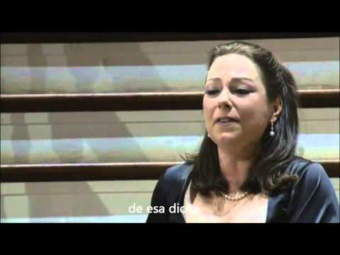 Dove sono - Dorothea Röschmann (Sub. Español)