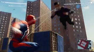 【PS4スパイダーマン】戦闘が楽しすぎる! サイドミッション フィスクのアジト
