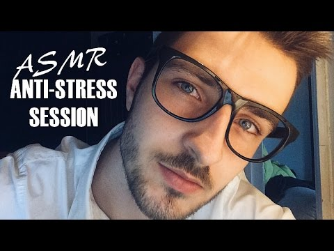 ASMR Anti-Stress Session (Trigger Test with Dr. Blue)