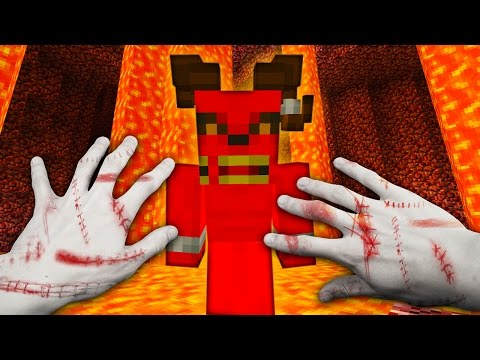 REALISTIC MINECRAFT - STEVE GOES TO HELL! 😈