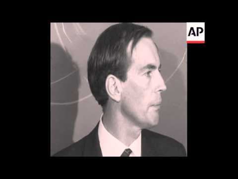 SYND 10/1/68 DR BARNARD PRESS CONFERENCE