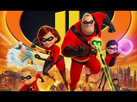 The Incredibles 2  2018 Craig T. Nelson, Holly Hunter, Samuel L. Jackson
