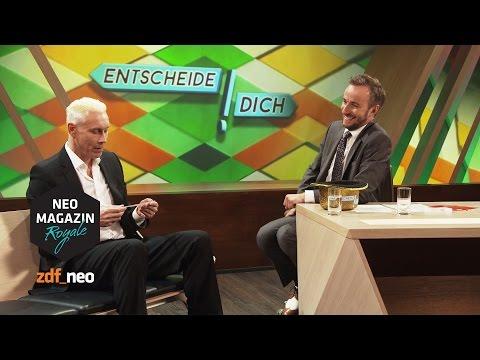 Entscheide dich! mit Farin Urlaub | #n NEO MAGAZIN ROYALE mit Jan Böhmermann - ZDFneo