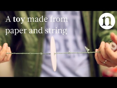The DIY centrifuge made of paper and string